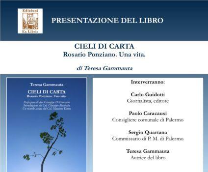 """Si presenta a Palermo """"Cieli di carta"""". Nel nuovo libro di Teresa Gammauta la vita di Rosario Ponziano, militare morto in Afghanistan nel 2009"""
