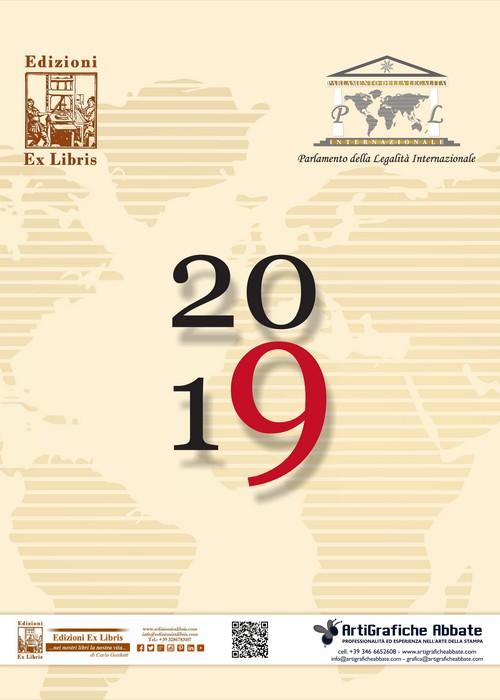 Parlamento della Legalità Internazionale – Calendario 2019