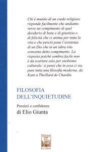 Filosofia dell'inquietudine, Elio Giunta, 2019
