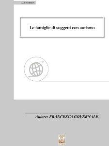 Famiglie con autismo, ISBN 9788896867846
