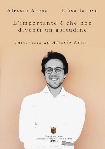 Libro intervista ad Alessio Arena